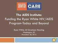 Presentation - The AIDS Institute