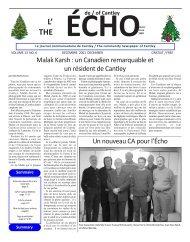 ECHOcantley.décembre 01 - Echo of Cantley / Écho de Cantley