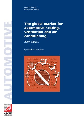 The global market for automotive heating, ventilation and air ...