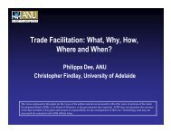 Trade Facilitation - Asian Development Bank Institute