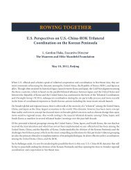 ROWING TOGETHER - Institute for Foreign Policy Analysis