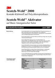 3 Scotch-Weld™ 2000 Scotch-Weld™ Aktivator - 3M