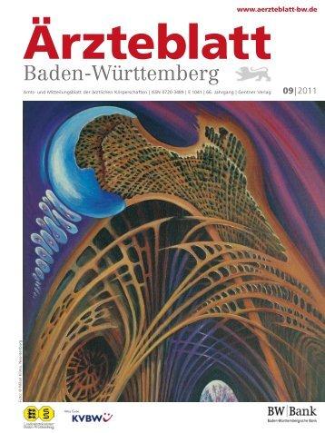 Ärzteblatt Baden-Württemberg 09-2011 [PDF] - Landesärztekammer ...