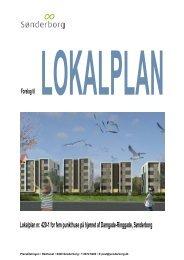 Lokalplan nr. 420-1 for fem punkthuse på hjørnet af ... - 16-12-2009