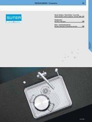 Küchenzubehör / Accessoires - Suter Inox AG