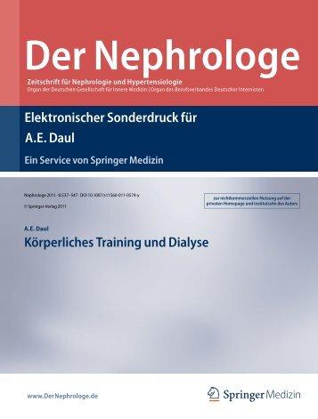 Körperliches Training und Dialyse - Elisabeth Krankenhaus Essen ...