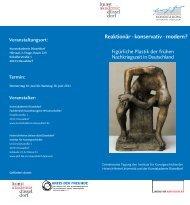 Reaktionär - konservativ - modern? - Heinrich-Heine-Universität ...