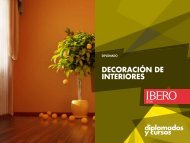 DECORACIÓN DE INTERIORES - Universidad Iberoamericana León