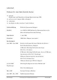 Professor Dr. med. Mark Dominik Alscher - Robert-Bosch ...