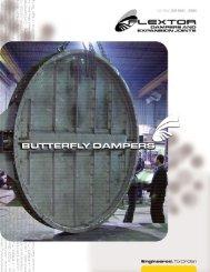 Butterfly Dampers - Effox-Flextor