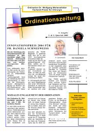 Ordinationszeitung - Ein Blick in eine chirurgische Endoskopie-Praxis