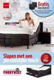 Slapen met een persoonlijke touch - Woonboulevard Poortvliet