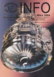 März 2004 - Vereinigung Luftfahrt eV
