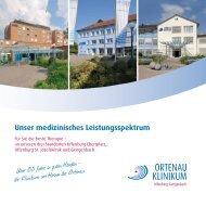 Unser medizinisches Leistungsspektrum - Ortenau Klinikum