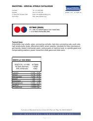 817M40 (EN24) - Macsteel