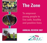 Young Carers - The Zone