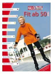 Fitness & Bewegung Gesundheit&Rehabilitation Ernährung & Co ...