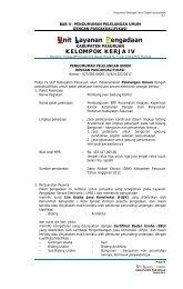 Unit Layanan Pengadaan - Kabupaten Pasuruan
