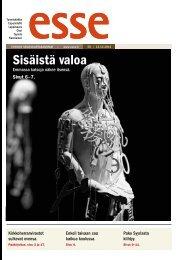 Esse 50/2012 (pdf) - Espoon seurakuntasanomat