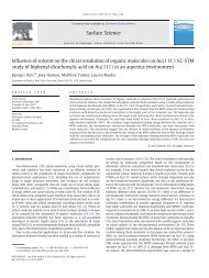 Adsorption-induced chirality in PBDA on Au(111) - DEPARTMENT ...