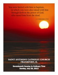 saint anthony catholic church saint anthony catholic church frankfort ...