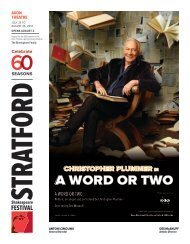 A Word or Two - Stratford Festival