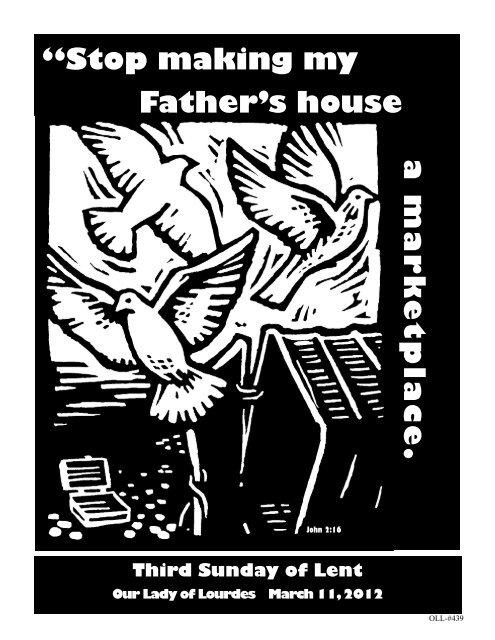 """a m a r k e t p la c e . """"Stop making my Father's house - The Parish ..."""