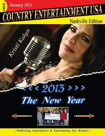January 2013 Issue - Country Entertainment USA