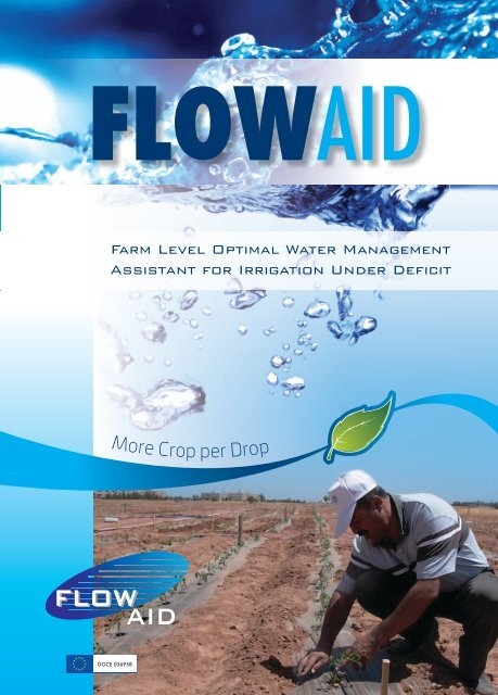 Farm Level Optimal Water Management Assistant for ... - Ce.Spe.Vi.