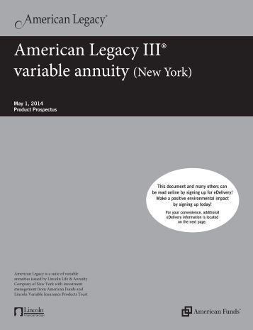 Zenith Accumulator Variable Annuity Variable Eforms