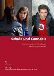Schule und Cannabis - Bundesamt für Gesundheit - CH
