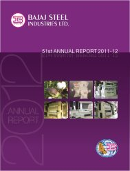 Annual Report 2011-2012 - Bajaj Group