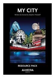My City resource pack - Almeida Theatre
