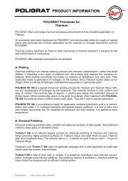 Productinformation - Titanium (PDF) - Poligrat (UK)