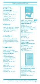 Gesamtverzeichnis 2007/2008 - Stauffenburg Verlag - Page 6