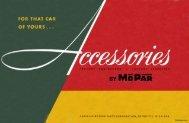 1952 Mopar Accessories Catalog - MyMopar