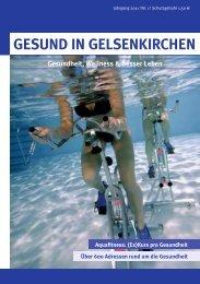 GESUND IN GELSENKIRCHEN - kvwl-consult