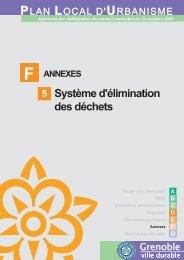 F5 Système d'élimination des déchets - Grenoble
