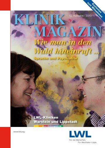 Klinkmagazin 13 2010 - Klinikmagazin
