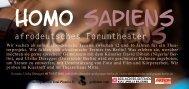 Homo sapiens Homo sapiens - Berliner Projektfonds Kulturelle ...