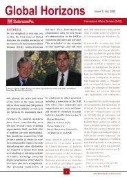 Global Horizons - Sciences-Po International