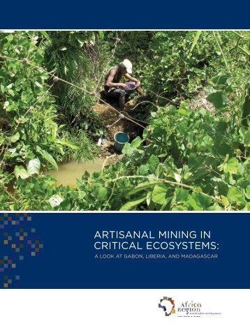Artisanal and Small Scale Mining: A Summary (PDF, 24 ... - PROFOR