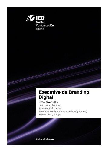 Branding Digital - IED Madrid