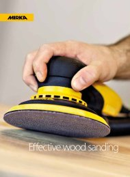Effective wood sanding - Mirka