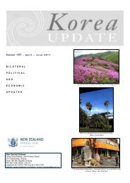 April - June - New Zealand Ministry of Foreign Affairs and Trade