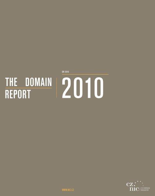 REPORT DOMAIN THE - Statistics