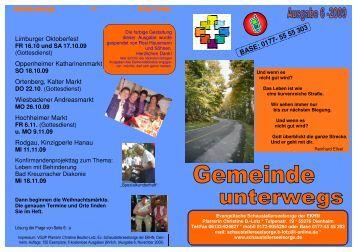 Gemeinde unterwegs 6-2009 - Evangelische Schaustellerseelsorge