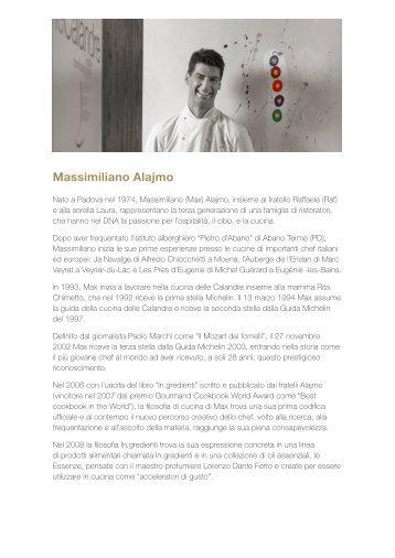 Biografia di Max Alajmo