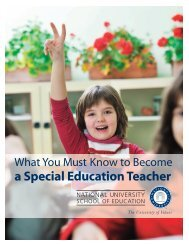 What You Must Know to Become a Special Education Teacher