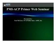 PMI Agile Certified Practitioner (ACP) Primer - Aspe-sdlc.com